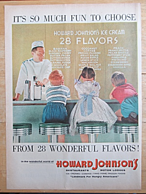 1957 Howard Johnson's with 28 Flavors of Ice Cream (Image1)