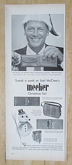 1955 Meeker With Joel Mccrea
