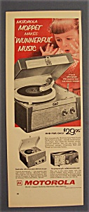 Vintage Ad: 1955 Motorola Moppet (Image1)