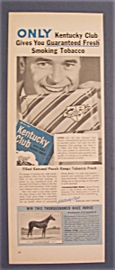 1955 Kentucky Club Smoking Tobacco