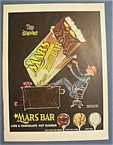 Vintage Ad: 1955  Mars  Chocolate  Bar (Image1)