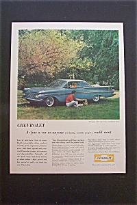 1959 Chevrolet Impala With The 2-door Sport Coupe