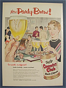 1955 Goetz Country Club Malt Liquor