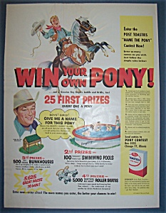 1955  Post  Toasties  with  Roy  Rogers (Image1)