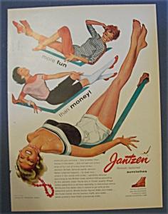 Vintage Ad: 1955 Jantzen Sunclothes (Image1)