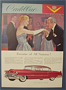 1955 Cadillac with a Woman's Hand Being Kissed (Image1)