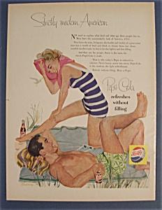 Vintage Ad: 1955  Pepsi - Cola (Image1)