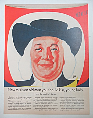 1965 Quaker Oats with the Quaker Oats Man  (Image1)