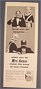 1961 Mrs. Grass Noodle Soup Mix
