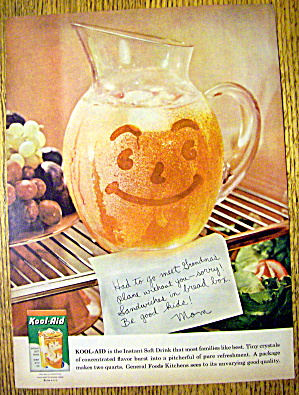 1959 Kool-aid With Pitcher In The Refrigerator
