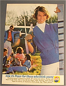 1961 Pepsi-Cola (Pepsi) with Woman Holding Bottle (Image1)