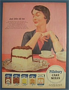 1955 Pillsbury Cake Mixes