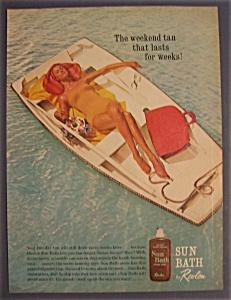 1961  Revlon  Sun  Bath  Tanning  Lotion (Image1)
