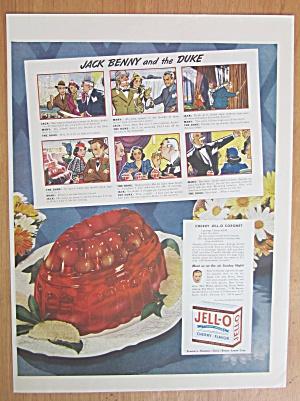 1938 Jell-O Cherry Gelatin Dessert w/Cherry Coronet  (Image1)
