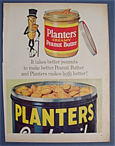 Vintage Ad: 1962 Planters Peanuts With Mr. Peanut