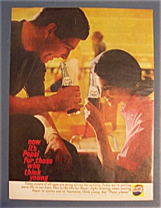 1961 Pepsi-Cola (Pepsi) with Man & Woman Talking (Image1)