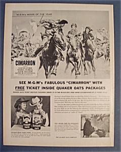 1961  Quaker  Oats  Cereal (Image1)
