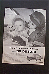 1959 De Soto with Mother Holding Baby  (Image1)