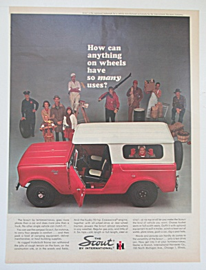 1963 International Scout with the Compact Scout  (Image1)