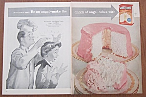 1955 Swans Down Angel Food Mix with Bob  Hope (Image1)