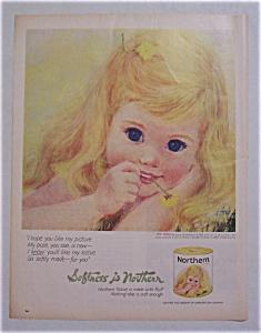 Vintage Ad: 1962 Northern Tissue (Image1)