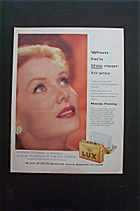 1957 Lux Soap with Rhonda Fleming (Image1)
