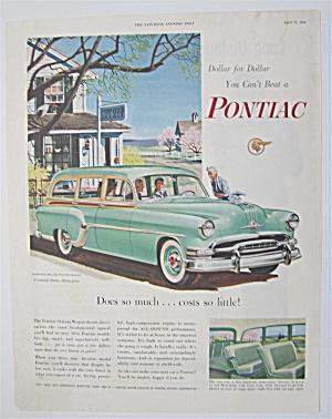1954 Pontiac Station Wagon with Women Talking  (Image1)