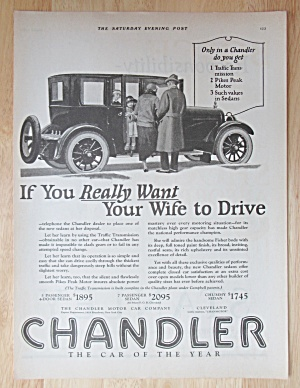 1924 Chandler Automobiles With Chandler Sedans