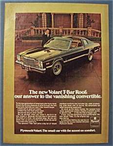 1977 Plymouth Volare T - Bar Roof