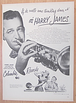 1946 Columbia Records With Harry James