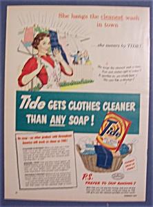 1951  Tide  Laundry  Detergent (Image1)