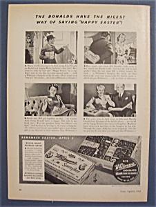 Vintage Ad: 1942  Whitman's  Sampler (Image1)