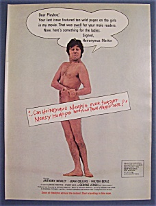 1969 Movie Ad For Heironymus Merkin
