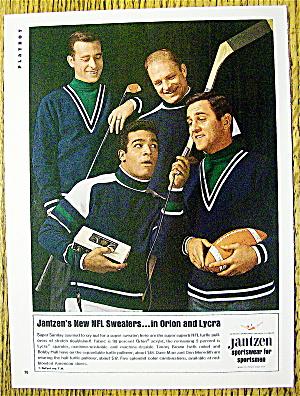 1967 Jantzen NFL Sportswear w/Don Meredith & More (Image1)