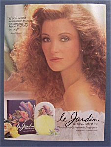 1986 Max Factor's Le Jardin with Jane Seymour (Image1)