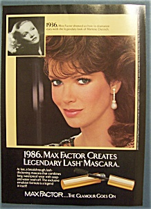 1986 Max Factor's Lash Mascara with Jaclyn Smith (Image1)