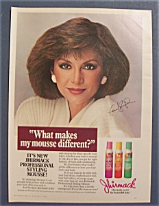 1985  Jhirmack  Shampoo  with  Victoria  Principal (Image1)