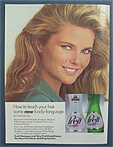 1985 Prell Shampoo with Christie Brinkley (Model) (Image1)
