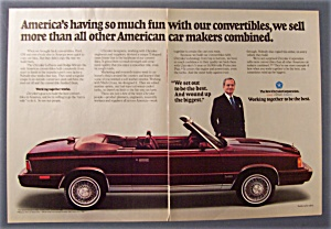 1986 Chrysler Corporation With Lee Iacocca