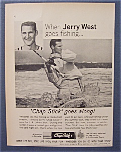 1965 Chap Stick With Jerry West