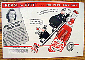Vintage Ad: 1940 Pepsi And Pete