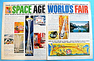Vintage Ad: 1962 Seattle's Space Age World's Fair (Image1)
