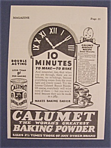 1928  Calumet  Baking  Powder (Image1)