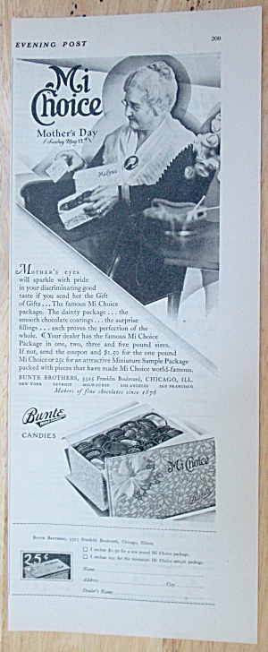 1929 Mi Choice Bunte Chocolate Candies with a Mother (Image1)