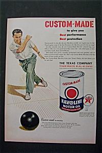1950 Havoline Motor Oil with Great Bowler Ned Day (Image1)