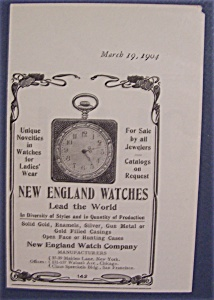 1904 New England Watches