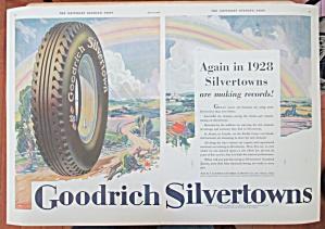 1928 Goodrich Tires with Goodrich Silvertown Tires  (Image1)