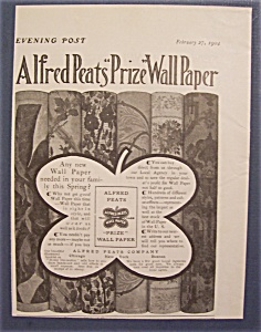 1904 Alfred Peats Prize Wallpaper