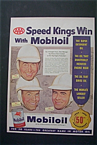 1953 Mobil Oil with 3  AAA Speed Kings of Auto Racing (Image1)