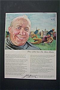1953 John Hancock Insurance w/Football's Knute Rockne (Image1)
